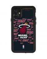 Miami Heat Blast iPhone 11 Waterproof Case