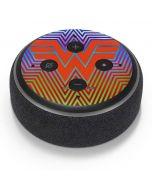 Wonder Woman Rainbow Chevron Amazon Echo Dot Skin