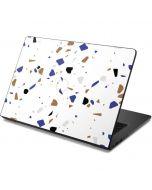 White Terrazzo Dell Chromebook Skin
