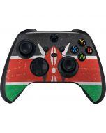 Kenya Flag Distressed Xbox Series X Controller Skin