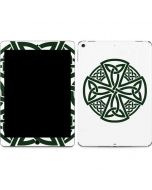 Celtic Cross on White Apple iPad Air Skin