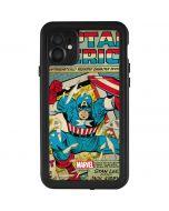 Captain America Revival iPhone 11 Waterproof Case