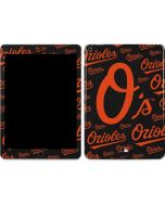 Baltimore Orioles - Cap Logo Blast Apple iPad Air Skin
