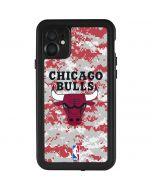 Chicago Bulls Digi Camo iPhone 11 Waterproof Case