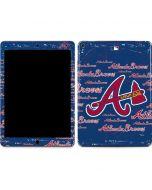 Atlanta Braves - Cap Logo Blast Apple iPad Air Skin