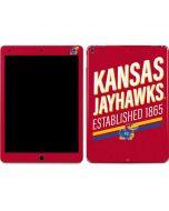 Kansas Jayhawks Established 1865 Apple iPad Air Skin