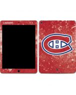 Montreal Canadiens Frozen Apple iPad Air Skin