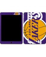 Los Angeles Lakers Large Logo Apple iPad Air Skin
