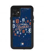 Detroit Tigers - Primary Logo Blast iPhone 11 Waterproof Case