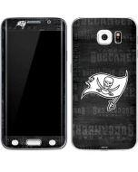 Tampa Bay Buccaneers Black & White Galaxy S6 Edge Skin