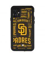 San Diego Padres - Cap Logo Blast iPhone 11 Waterproof Case