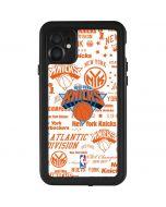 NY Knicks Historic Blast iPhone 11 Waterproof Case