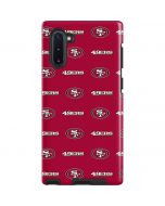 San Francisco 49ers Blitz Series Galaxy Note 10 Pro Case