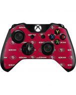 San Francisco 49ers Blitz Series Xbox One Controller Skin