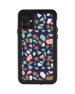 Midnight Terrazzo iPhone 11 Waterproof Case
