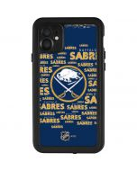 Buffalo Sabres Blast iPhone 11 Waterproof Case