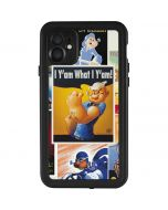 I Yam What I Yam iPhone 11 Waterproof Case