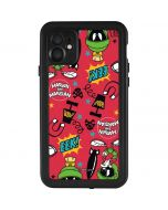 Marvin the Martian Patches iPhone 11 Waterproof Case