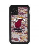 Miami Heat Digi Camo iPhone 11 Waterproof Case