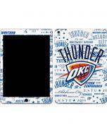 Oklahoma City Thunder Historic Blast Apple iPad Air Skin