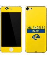 Los Angeles Rams White Performance Series Apple iPod Skin