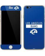 Los Angeles Rams Blue Performance Series iPhone 6/6s Skin