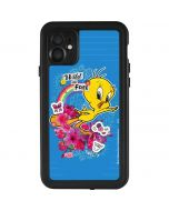Tweety Bird Wild and Free iPhone 11 Waterproof Case