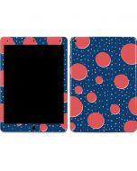 Coral Polka Dots Apple iPad Air Skin