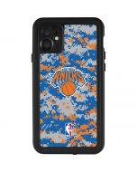 New York Knicks Digi Camo iPhone 11 Waterproof Case
