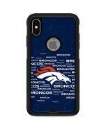 Denver Broncos Blue Blast Otterbox Commuter iPhone Skin