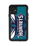 Charlotte Hornets Large Logo iPhone 11 Waterproof Case