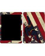 Superman American Flag Apple iPad Air Skin