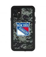New York Rangers Camo iPhone 11 Waterproof Case