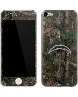 Los Angeles Chargers Realtree Xtra Green Camo Apple iPod Skin