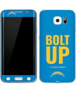 Los Angeles Chargers Team Motto Galaxy S6 Edge Skin