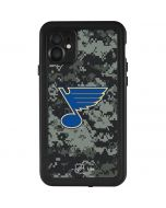 St. Louis Blues Camo iPhone 11 Waterproof Case
