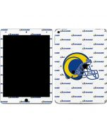 Los Angeles Rams White Logo Blast Apple iPad Air Skin