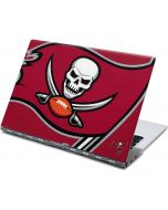 Tampa Bay Buccaneers Large Logo Yoga 910 2-in-1 14in Touch-Screen Skin
