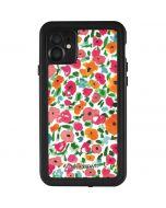 Watercolor Floral iPhone 11 Waterproof Case