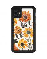 Yellow Sunflower iPhone 11 Waterproof Case