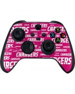 Los Angeles Chargers Pink Blast Xbox Series X Controller Skin