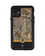 Realtree Camo Boston Bruins iPhone 11 Waterproof Case