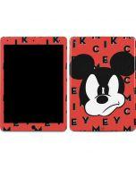 Mickey Mouse Grumpy Apple iPad Air Skin