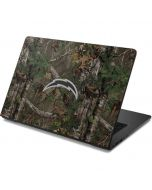 Los Angeles Chargers Realtree Xtra Green Camo Dell Chromebook Skin