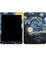van Gogh - The Starry Night Apple iPad Air Skin