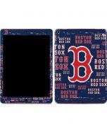 Boston Red Sox - Cap Logo Blast Apple iPad Air Skin