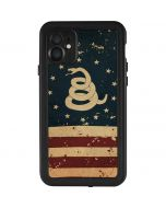 Dont Tread On Me American Flag iPhone 11 Waterproof Case