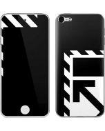 Black and White Geometric Shapes Apple iPod Skin