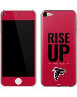 Atlanta Falcons Team Motto Apple iPod Skin