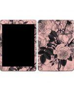 Rose Quartz Floral Apple iPad Air Skin